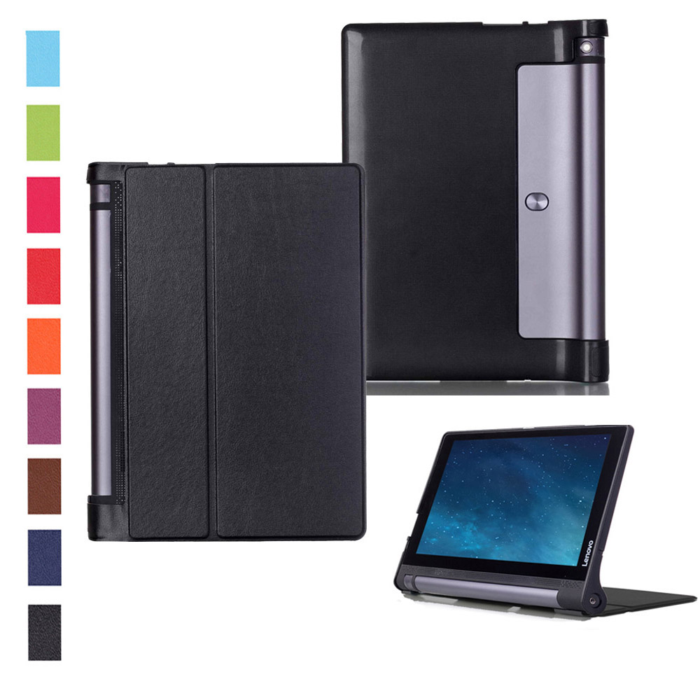 Case for Lenovo YOGA Tab3 10 X50L Smart Cover PU Leather Case for Lenovo Yoga Tab 3 10 X50 X50F X50M 10.1inch Tablet+Stylus yoga tab 3 10 x50l x50m case soft silicone case cover for lenovo yoga tab 3 10 x50 yt3 x50l x50m 10 0 inch tablet stylus