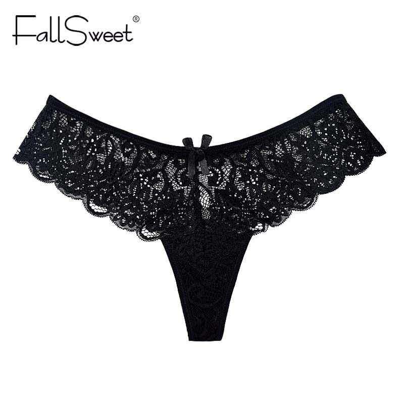 01c86ef8f34 Women Untra Thin Lace Thong Panties Sexy Women Underwear Knickers Briefs ...