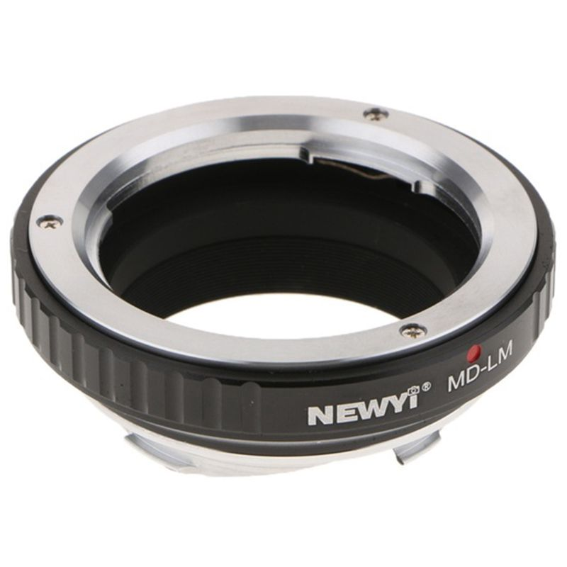 NEWYI Loviver MD to LM Adapter for Minolta Lens Leica M Mount Camera TECHART LM-EA7 camera Converter Ring