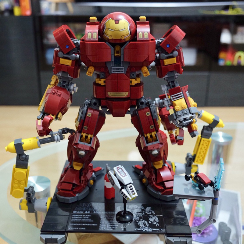 все цены на Bela Hulkbuster Marvel Avengers Infinity War Ironman 76105 Super Hero Building Blocks Bricks Toys 2018 Compatible Legoe giftssle онлайн
