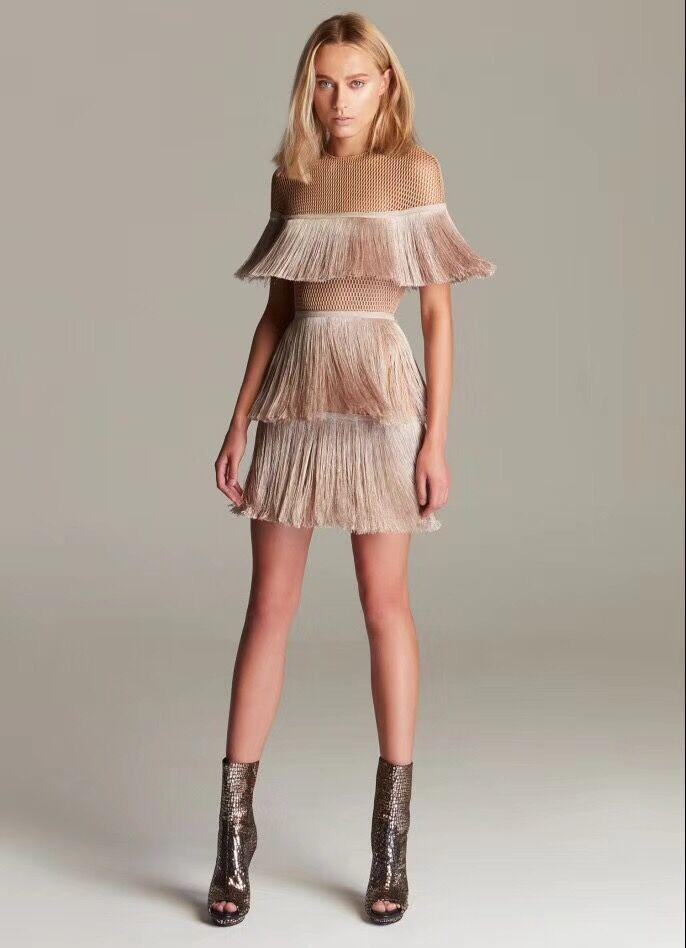 80a66dc3cfa De Gland Casual Partie Mini 2018 Courte Plage En Femmes White Dentelle Robes  Sexy champagne Vêtements Robe qpv55wa7X