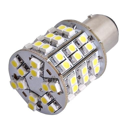 T25 BAY15D 1157 White 60 SMD LED Tail Stop Light Bulb