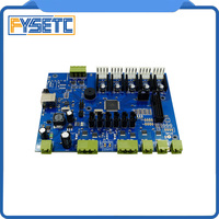2017 Newest Makerbot 3D Printer Replicator G Mighty Board With IC Atmega1280 16au/Atmega2560 16au For Makerbot 3d printer