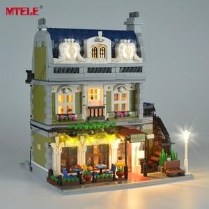 Image 5 - MTELE Brand LED Light Up Kit For 10243 Restaurant House Creator Expert City Street Lighting Kit (Not Include Model)