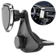 2019 New Universal 360 Rotating Car Mount Mobile Holder Stand Magnetic CD Slot Air Vent Cell Phone