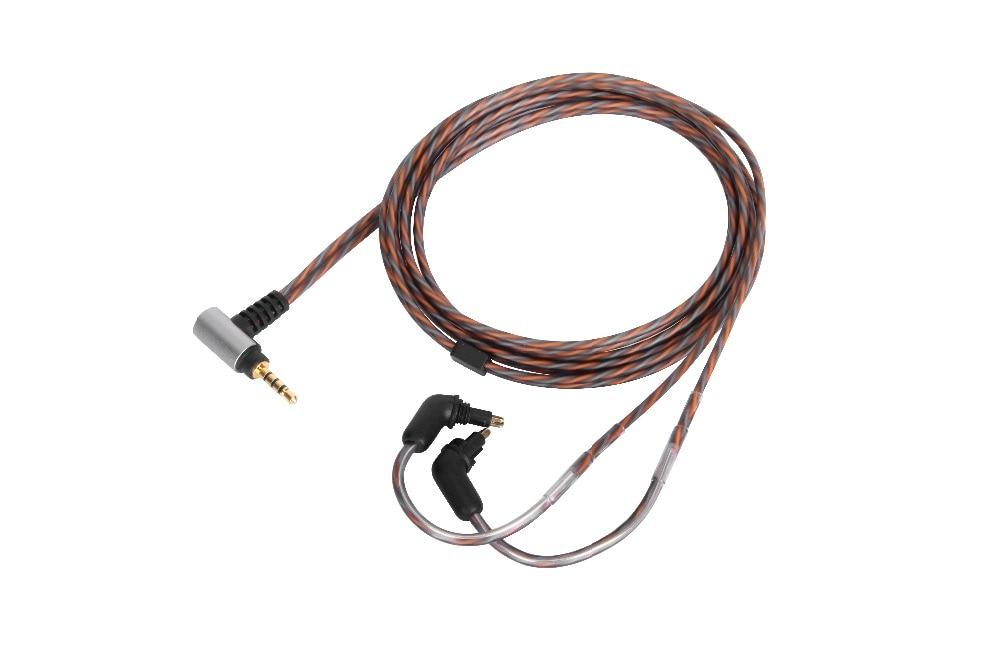 3.5/2.5/4.4 OCC BALANCED Audio Cable For SONY EX600 EX800 EX1000 EXK MDR-7550 headphones