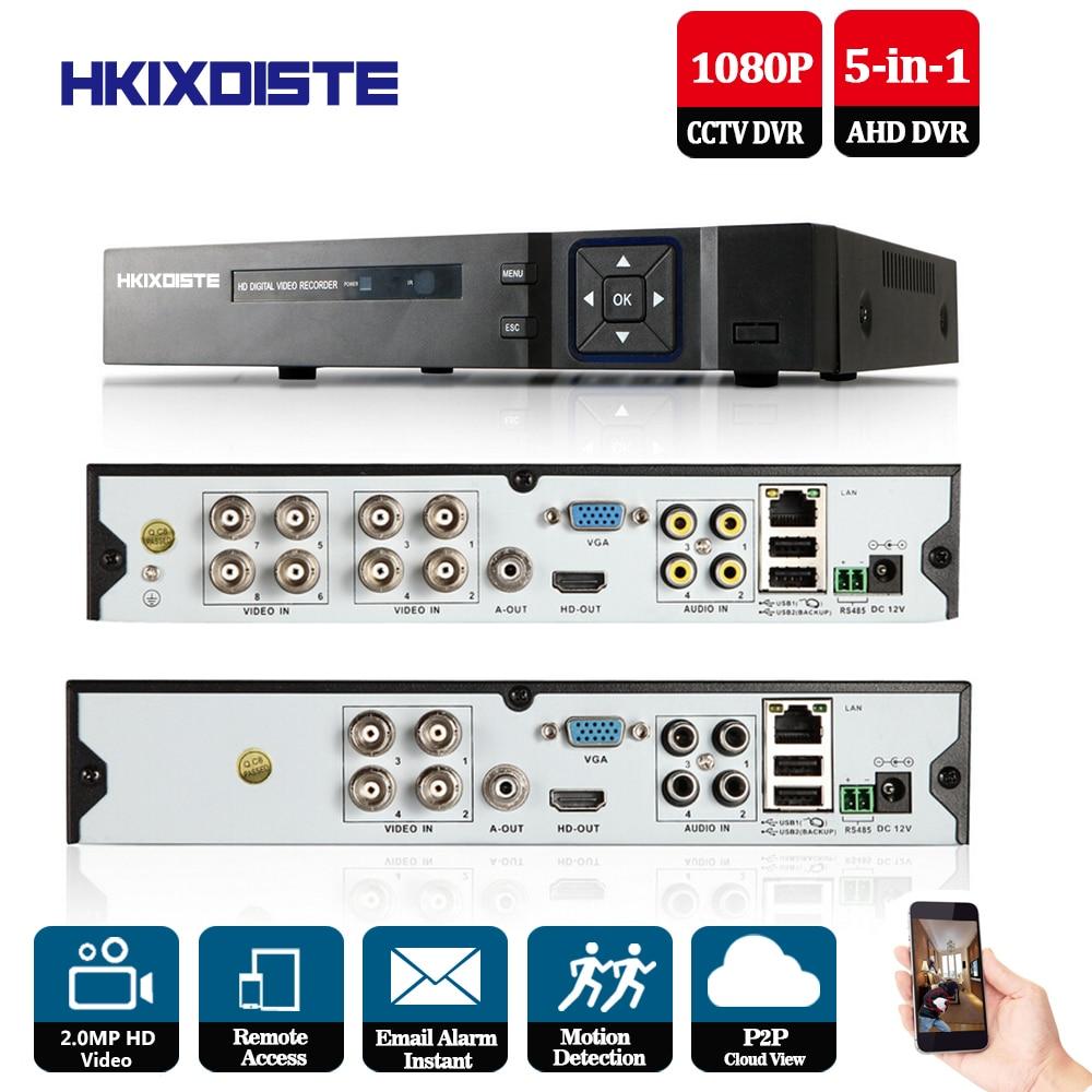 1080P/960P/720P/960H CCTV Camera XMeye Hi3521A 4 8 Channel 1080p 5 in 1 Hybrid Wifi XVI TVi CVI NVR AHD DVR Video Recorder 1080p 960p 720p 960h cctv camera hi3531a 32ch 32 channel 6 in 1 coaxial hybrid nvr cvi tvi ahd dvr surveillance video recorder