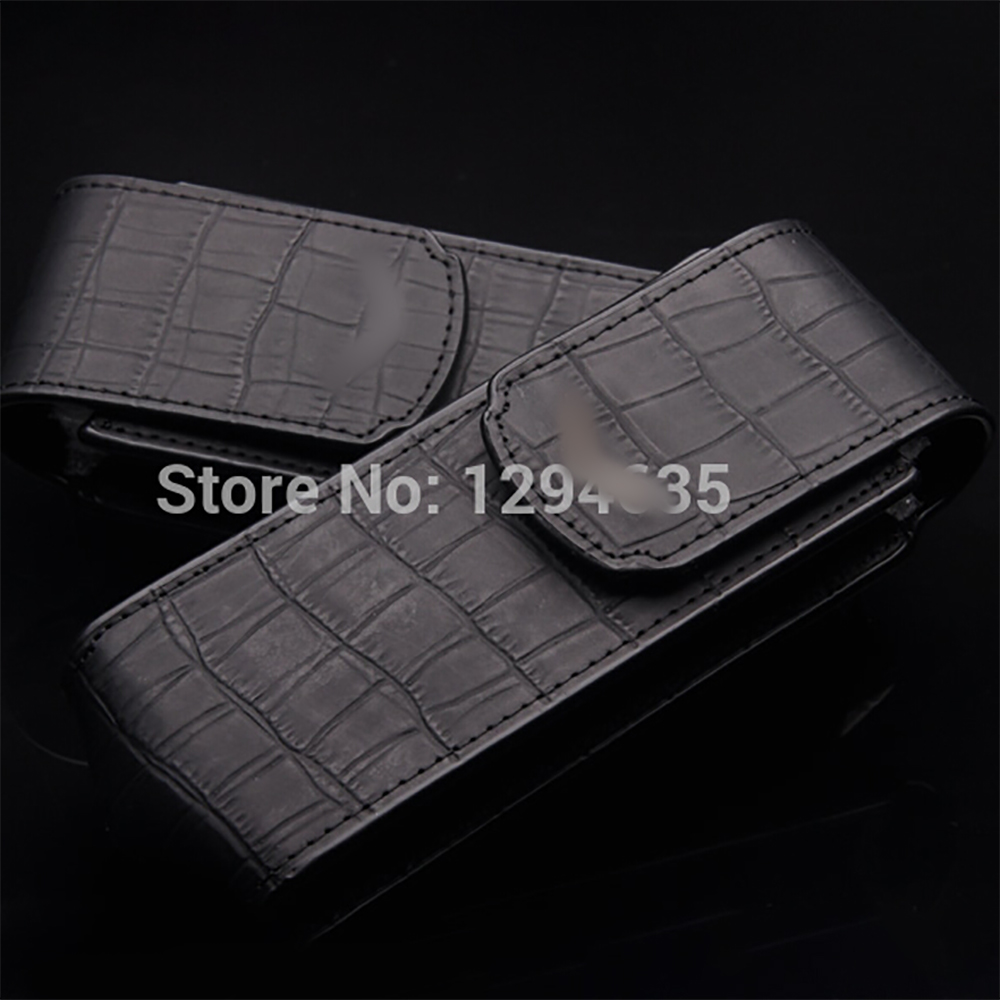 Top Quality Crocodile Skin Leather Vertical Case For Vertu Luxury Phone 100 Perfit Fit For Deluxe