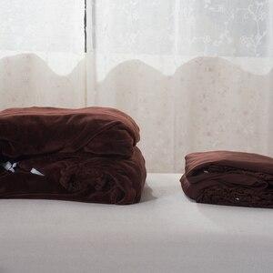 Image 5 - Pluche Dikke Sofa Cover Elastische Voor Woonkamer Couch Cover Fluwelen Stofdicht Voor Huisdieren Kussenovertrekken All Inclusive sectionele Sofa