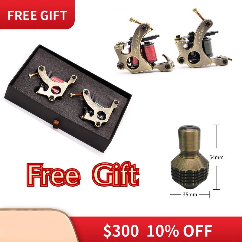 Hot Sales Wire Cutting Coils Tattoo Machine For Liner And Shader Copper Coil Machine Tattoo Supplies Set