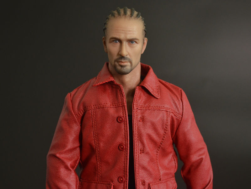 1/6 scale figure doll Edward Harrison Norton Stone 12 Action figure doll Collectible Figure Plastic Model Toys .No box 1 6 scale figure doll black detective 12 action figure doll collectible figure plastic model toys no box
