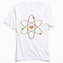Science Rules! T-shirts Men 2018 Popular T Shirt O Collar Summer Fall 100% Cotton Tshirt Classic Short Sleeve Geometric Clothes