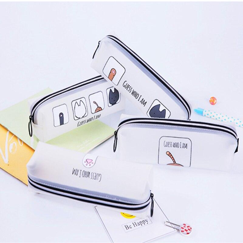 NNRTS вместительные водонепроницаемые сумки для карандашей, милые женские сумки для ручек, школьные подарки для студентов