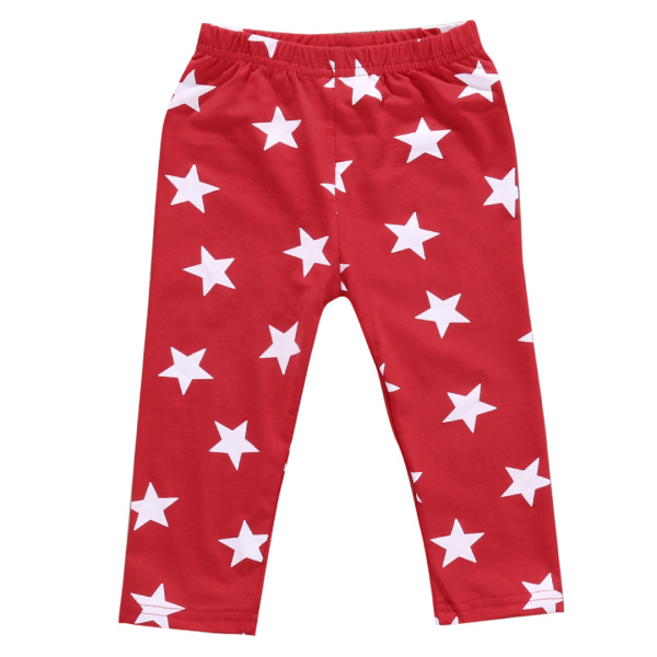 Drop Shipping Toddler Baby Leggings 2017 Newest Boys Girls Star Printed Harem Pants Trousers Infant Casual Bottom Leggings