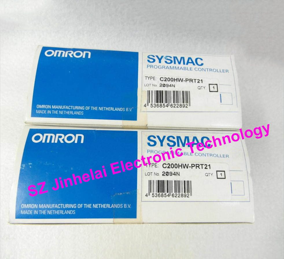 Authentic original OMRON PLC Profibus stand unit C200HW-PRT21 dhl ems 1pc new omron plc c200hw bi031 xtxr a2