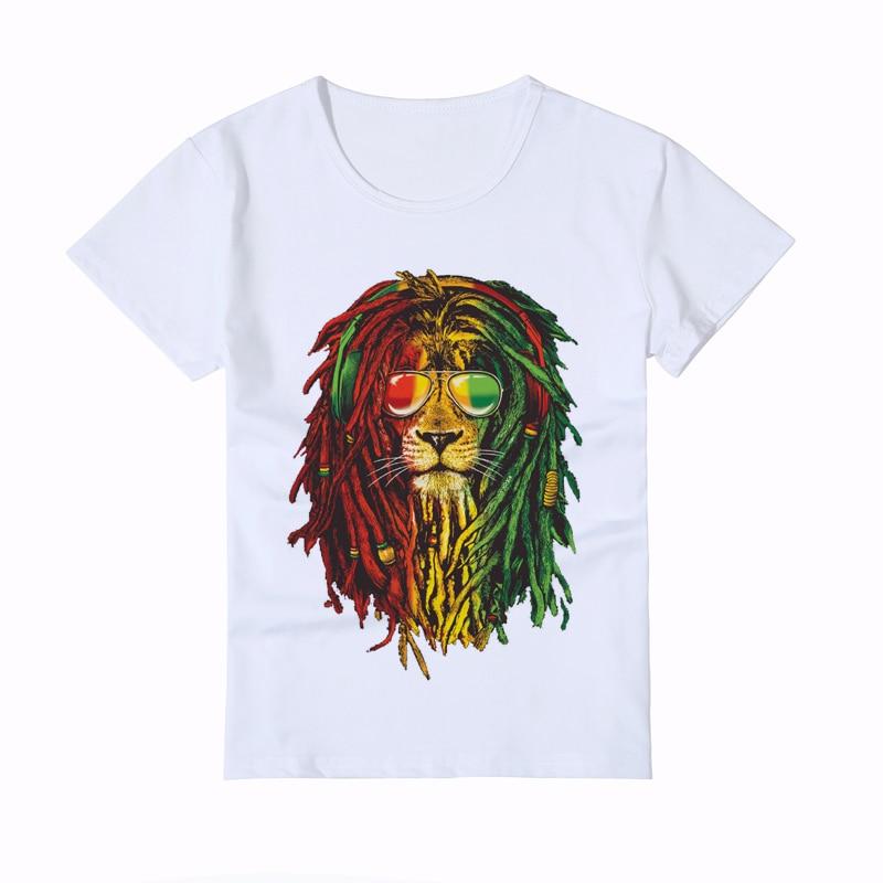 Fashion Animal Kids T-shirt Print Bob Marley lion Baby T-shirt 3d Boy Brand Clothing Girl Summer Tops Hip Hop T Shirt Y3-5