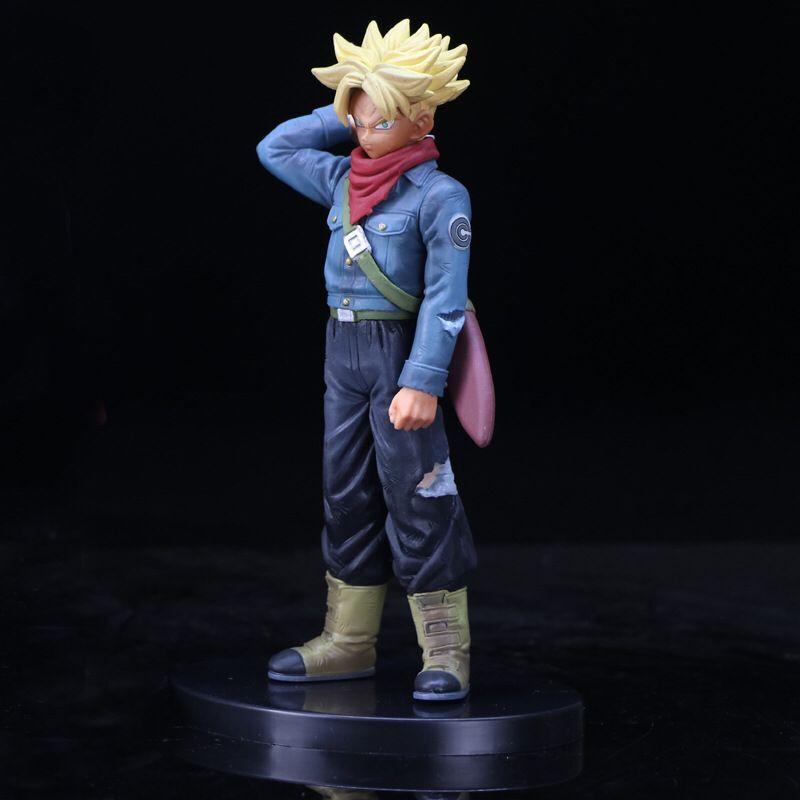 Toy Action-Figure Dragon-Ball-Z Super-Saiyan Model-Collection PVC Boxed Gift Goku Wholesale