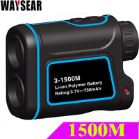 Laser Range Finder Rangefinder 600M 900M 1200M 1500M Distance Speed Angle Height Test Engineering Tools Measuring