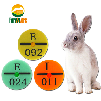 Rabbit Rabbit Ear Tag with Fox Mink Raccoon Dog Tag Labeled Rabbit Ear Mark with Rabbit Ear Sign
