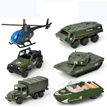 1:72Children Alloy ABS Military Model Simulation Vehicle Tank Transport Helicopter Armored Vehicle Die Casting Birthday Gift Toy 1 55 children s toys pull back alloy vehicle three military suit tank armored vehicle medical vehicle helicopter model toy gifts
