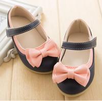 Koreaanse versie nieuwe 2016 fabriek lederen sandalen kinderen meisje schoenen groothandel merk tij kids F041