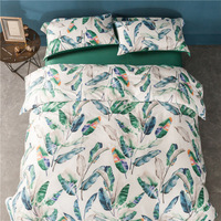 egypt Cotton Bedlinen Luxury bedclothes King Queen double size bedcover Doona duvet cover sheet pillowcase 4pc bedding set S1001