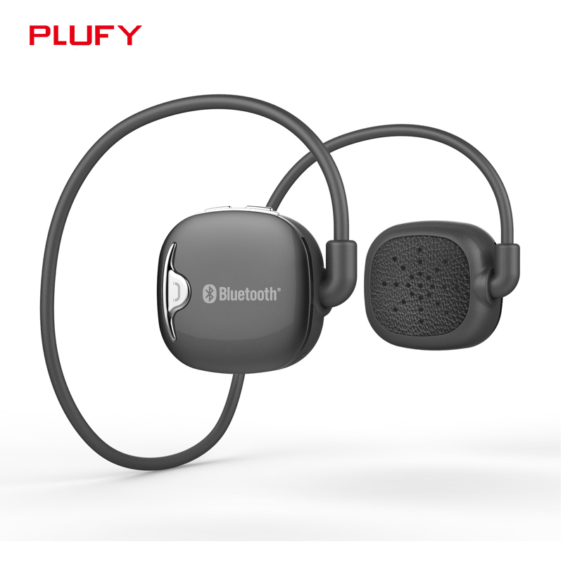Plufy Wireless Bluetooth Headset Stereo Anti-sweat Sport Headphones Noise Cancelling Running Earbuds Earphone for iphone Android