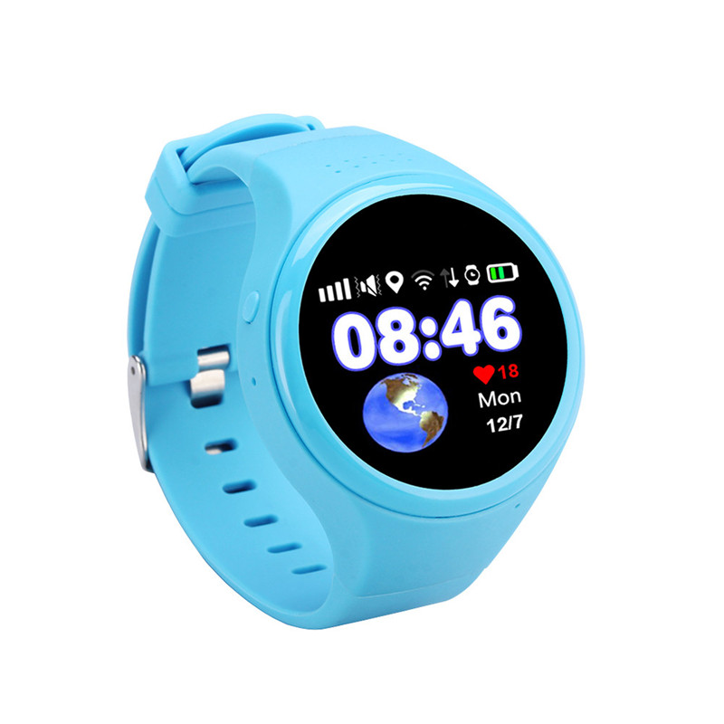 1.2 Inch Touch Screen Smart Watch For Children Old Man Anti Lost GPS Tracker SOS Call Wristwatch Smartwatch Fit For IOS Android