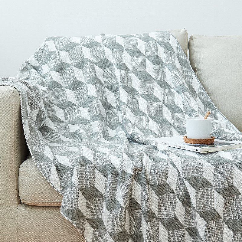 Knitted Blankets, Bed Blanket by 100% Plush Microfiber