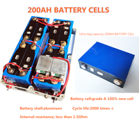 Ultra big capacity 12V 100AH,120AH,200AH Lithium iron phosphate li ion Batteries for motor homes/outdoor emergency Power source