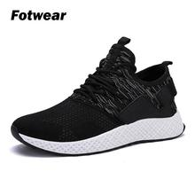 Fotwear Sneakers Men casual shoe Flywire Mesh laces Lightweight Comfortable Soft Upper Breathable for all days wearing Traction
