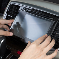 1PCS 7/8inch For Kia Sportage QL 2016 2017 Rio X-Line 2018 Screen Protective Film Car GPS Navigation Tempered Glass Car Stickers