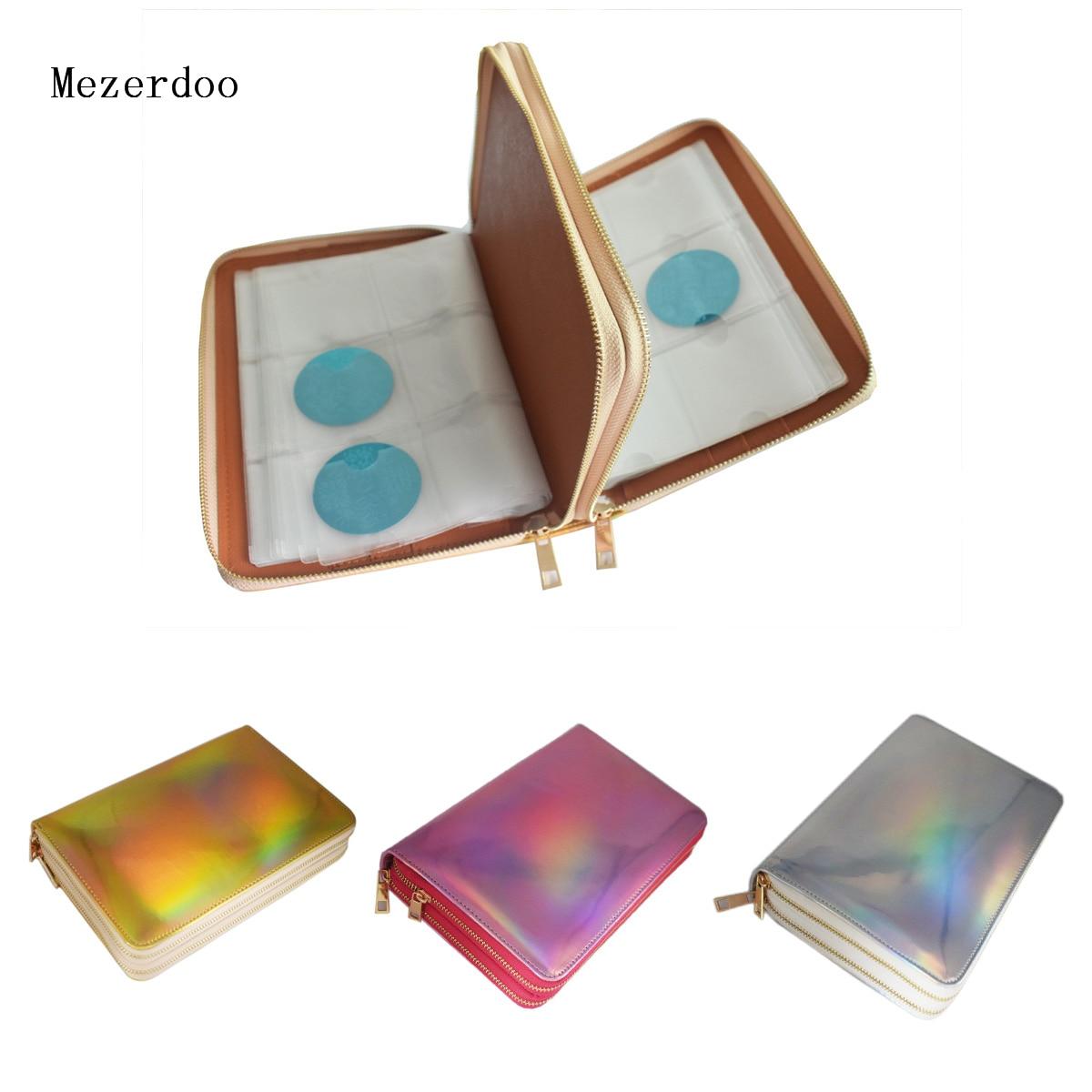 1 Pcs 336 Slots Stamping Plate Holder Case Rainbow Gold Silver Rose Round Square Nail Art Plate Organizer серьги art silver art silver ar004dwzmh30