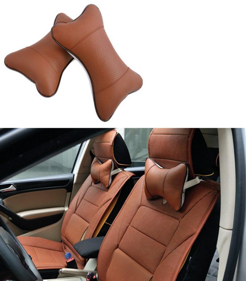 Car Headrest Pillow Neck For Mitsubishi Asx Lancer 10 9 Outlander EX Pajero Sport Eclipse Carisma Galant Grandis Colt