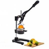 High Quality Black Orange Hand Press Commercial Pro Manual Citrus Fruit Lemon Juicer Juice Squeezer Household