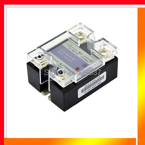 цена на SSR-40DA free shipping (2Pcs/Lot) ssr relay 40da JGX-40F DC-AC 3-32vDC to 24-480vAC solid state relay, single phase ssr, 40A SSR