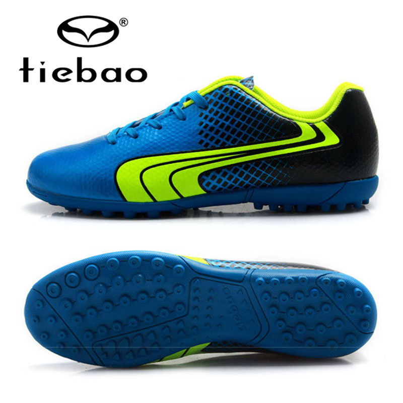 TIEBAO Professional Soccer Shoes Women Men Chuteiras Futbol Outdoor Sports TF Turf Soles Sneakers Teenagers Soccer Cleats Boots tiebao professional size 36 43 soccer shoes mens football training sneakers tf turf soles boots outdoor botas de futbol