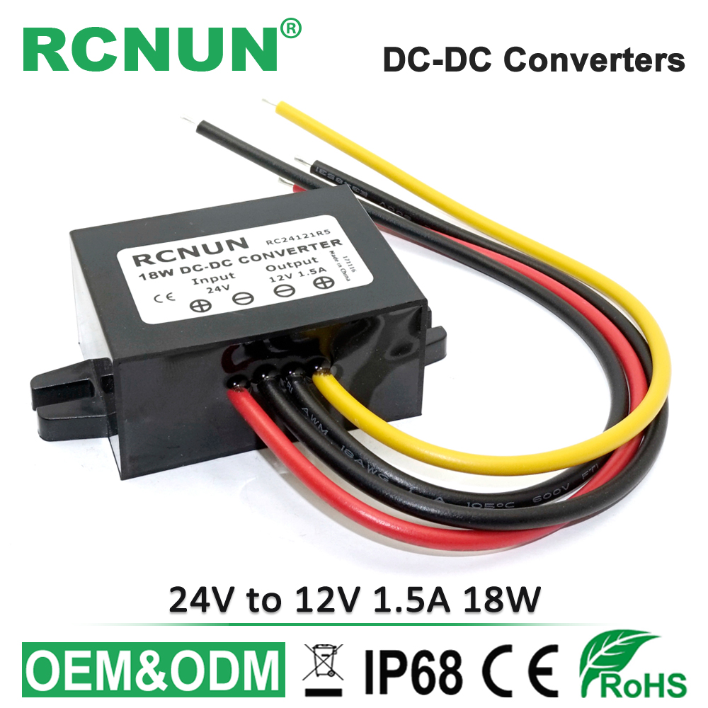 12v To 24v 5a 8a 10a 12a Dc Boost Converter 12 Volt Step Up 24 Power Supply 45 Amp Single Output Rcnun 18w Down 15