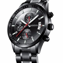 Hot-selling luxury brand watches men 2017 hot fashion casual charm luminous sport relogio masculino waterproof 30m KASHIDUN