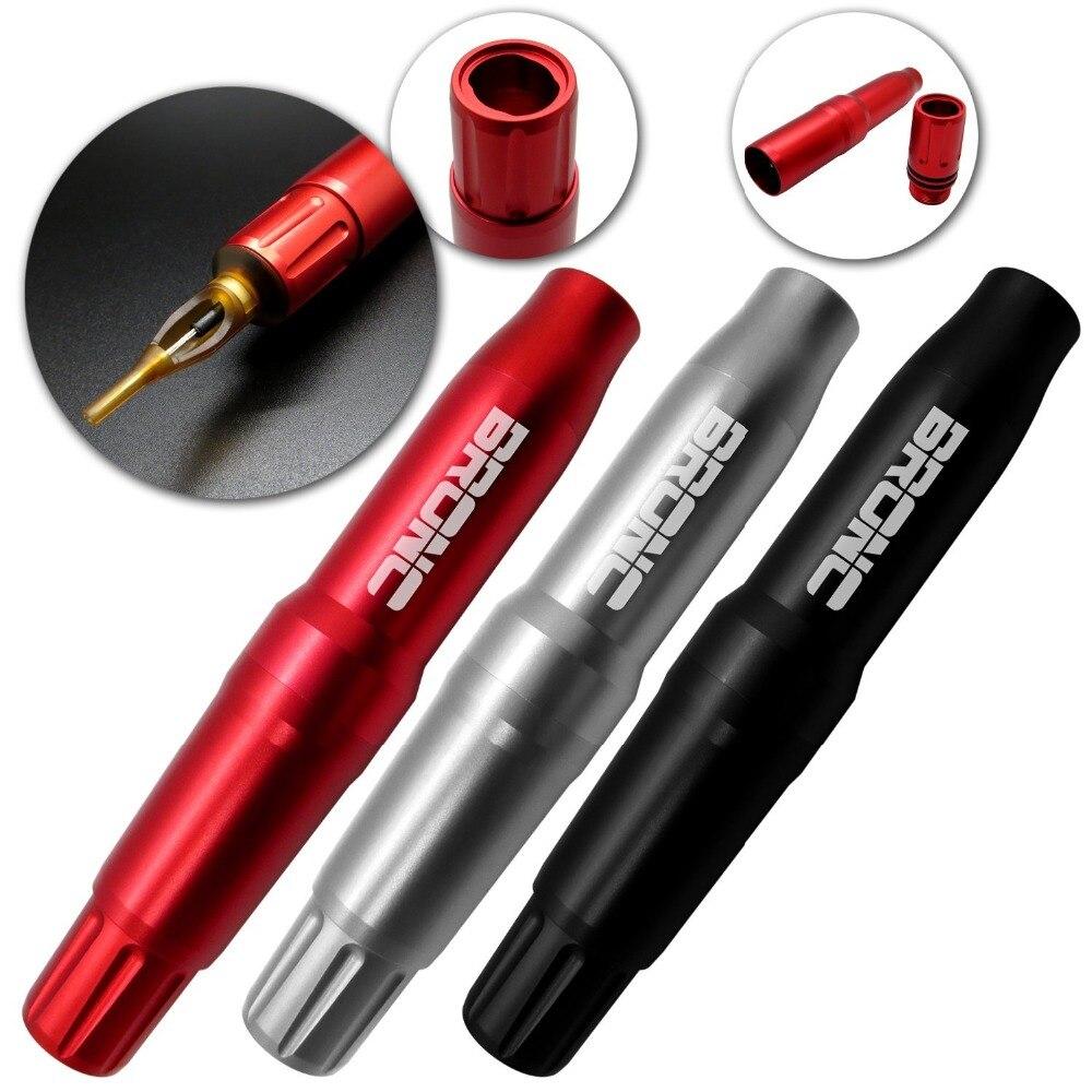 Nuovo! Bronc Penna Ibrida Del Tatuaggio & Macchina Cartuccia di Trucco Della Macchina Rotativa Del Tatuaggio Swiss Motor Pen-RTM-1003-75