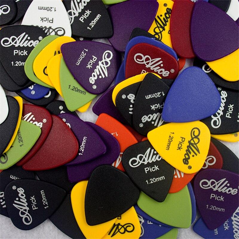100 unids Púas de Guitarra accesorios de guitarra eléctrica acústica instrumento