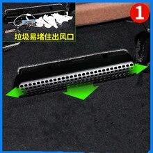 2 шт./компл. Бесплатная Установка сиденье воздуховыпускное отверстие защитное покрытие для Benz Новинка GLC260 C200L E300L Z2EA569
