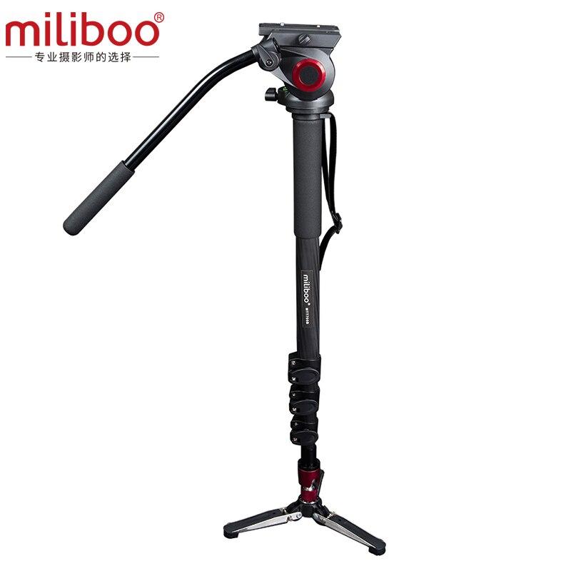 miliboo MTT705B Portable Carbon Fiber Tripod Monopod for ProfessionalCamera Camcorder Video DSLR Stand Half Price of