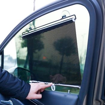 Osłony przeciwsłoneczne do samochodu osłona przeciwsłoneczna na okno zasłona daszek Valance kurtyna osłona przeciwsłoneczna Roller składany Car Styling 40*60 cm A30 tanie i dobre opinie as description Side Window Sunshades 60 * 40 * 1cm Car Curtain Window Car Sun Shade Car Window Sun Shade Curtain Sunshade Shield Cover Mesh Solar Protect