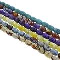 Purple Fogo Ágata pedra Natural Beads Venda Quente 13x18mm 22 PCs/Strand DIY bead para jóias fazer 15''