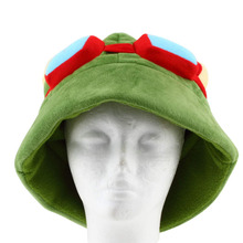 New Fashion LOL Teemo One Size Cosplay Party Warm Hat Army Green Cap New Hot Selling