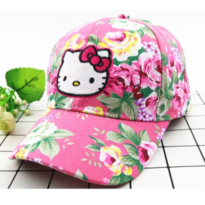 Hello Kitty Summer Sun Hat Girls
