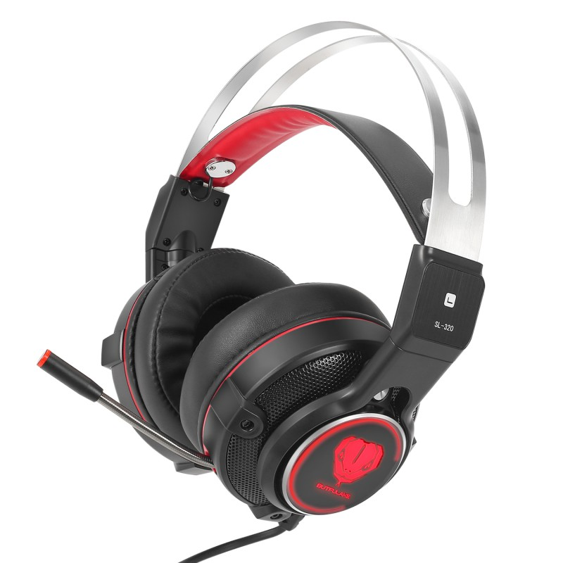 Professional Gaming Headset Computer Game Headphones with microphone LED Light for computer PC Gamer for LOL/DOTA 2/Steam K5 professional gaming headset super bass computer game headphones with microphone led light for computer pc gamer