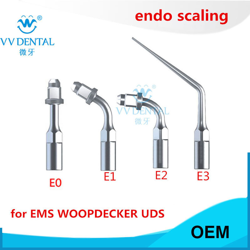 Scaler endo files holder tip dental endodontic tip fit EMS WOODPECKER SYBRONENDO DMETEC Piezo MICRODONT(China)