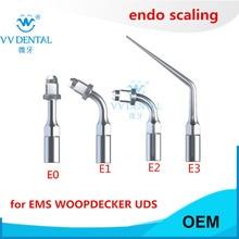 Scaler endo files holder tip dental endodontic tip fit EMS WOODPECKER SYBRONENDO DMETEC Piezo MICRODONT